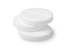 Drie tabletten Stock Afbeelding
