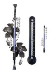Drie thermometers Royalty-vrije Stock Foto