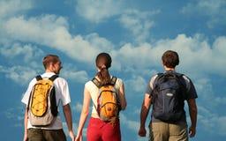 Drie tienerjaren Stock Afbeelding