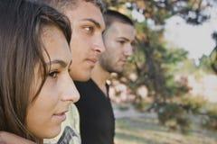 Drie tieners Stock Afbeeldingen
