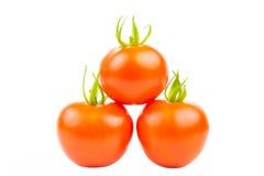 Drie Tomaten 2 Royalty-vrije Stock Afbeelding