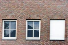 Drie vensters Stock Fotografie