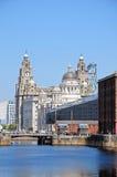 Drie vereren, Liverpool Stock Foto's