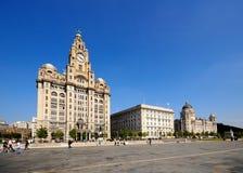 Drie vereren, Liverpool Stock Fotografie