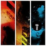 Drie verticale banners vector illustratie
