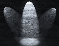 Drie vleklichten stock fotografie