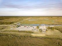 Drie Vorken Marsh Recreational Area Royalty-vrije Stock Afbeelding