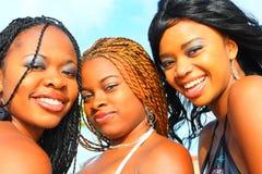 Drie vrienden Royalty-vrije Stock Afbeeldingen