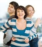 Drie vrienden 7 Stock Afbeeldingen
