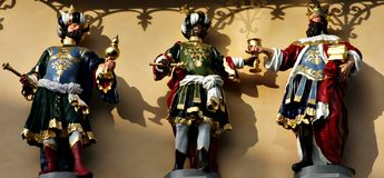 Drie wijzen Royalty-vrije Stock Foto's