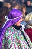 Drie Wijzen paraderen Royalty-vrije Stock Fotografie
