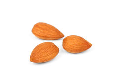 Dried almonds Royalty Free Stock Photo