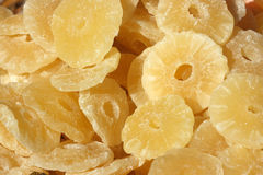 Dried ananas slices Royalty Free Stock Photos