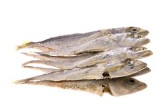Dried anchovy fish Royalty Free Stock Photo