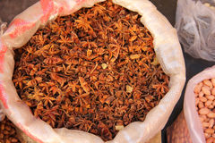 Dried anise Stock Photos