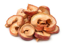 Dried apple chips Royalty Free Stock Photos