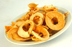 Dried apple fruits Royalty Free Stock Photography