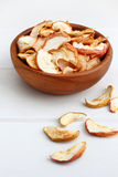 Dried apple fruits Stock Photos