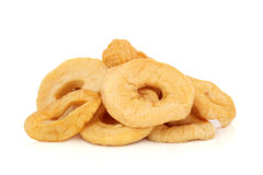 Dried Apple Rings Stock Photos