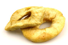 Dried apple rings Royalty Free Stock Photos