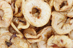 Dried apple rings Royalty Free Stock Photography