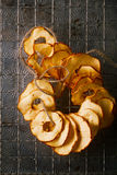 Dried apple slices Royalty Free Stock Image
