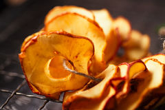 Dried apple slices Royalty Free Stock Photos