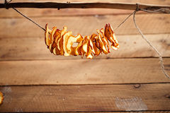 Dried apple slices Royalty Free Stock Photo
