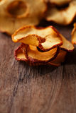 Dried apple slices Stock Image