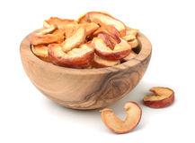 Dried apple slices Stock Photography