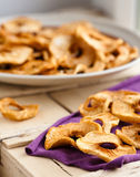 Dried apples Royalty Free Stock Image