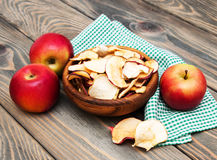 Dried Apples Royalty Free Stock Photography