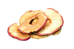 Dried apples chips Stock Photo