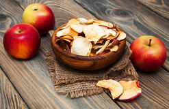 Dried apples Stock Photography