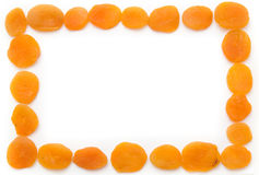 Dried apricot Stock Images