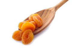 Dried apricot Royalty Free Stock Photos
