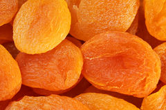 Dried apricot background Stock Photo
