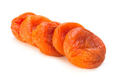 Dried apricot fruit sweet food Royalty Free Stock Photography