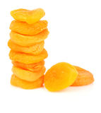 Dried apricot fruits Royalty Free Stock Photography