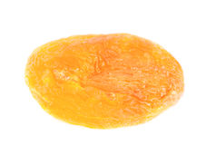Dried apricot on a white Stock Image