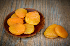 Dried apricot Stock Photography