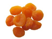 Dried apricots Stock Photos