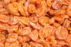 Dried apricots Royalty Free Stock Photos