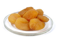 Dried apricots Royalty Free Stock Image