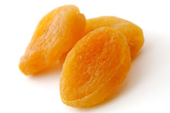 Dried apricots Stock Image