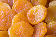 Dried Apricots 3. Close-up of dried apricots Stock Photography