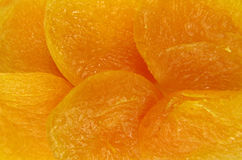 Dried apricots background Stock Photography