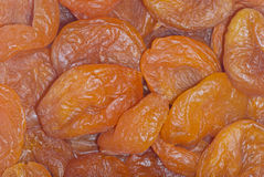 Dried apricots, background Royalty Free Stock Photo