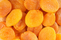 Dried apricots background Royalty Free Stock Photography