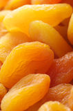 Dried apricots close-up Stock Images
